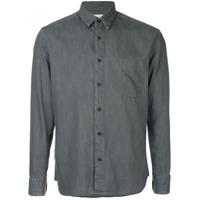 Cerruti 1881 Camisa Slim Com Botões - Preto