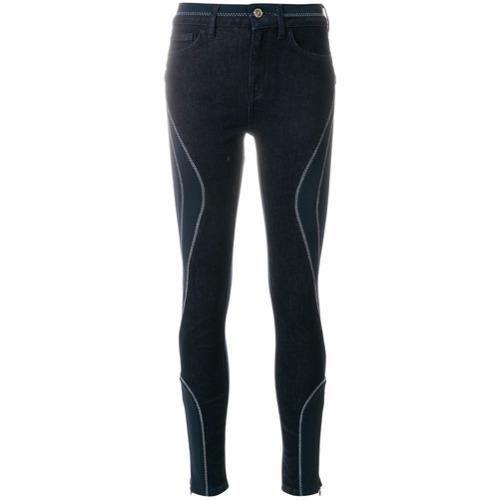 Calça skinny 'Gigi Hadid' azul em algodão misto, Tommy Hilfiger.