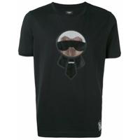 Fendi Camiseta 'karlito' - Preto