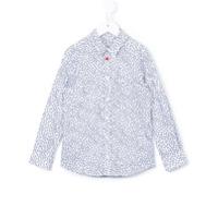 Paul Smith Junior Camisa Estampada - Branco
