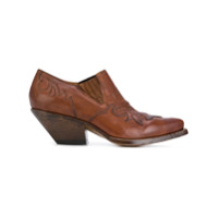 Buttero Ankle Boot De Couro - Brown
