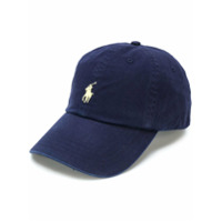 Polo Ralph Lauren Boné Com Logo Frontal - Azul