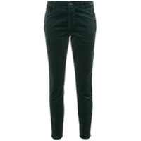 J Brand Calça Skinny Cropped 'zion' - Green