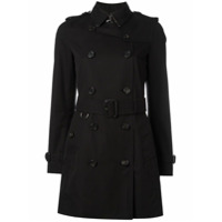 Burberry Trench Coat Clássico - Preto