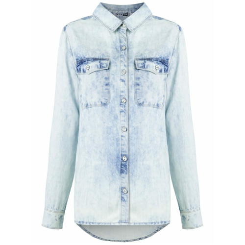 Pop Up Store Camisa jeans - Azul