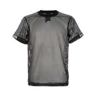 Adidas Originals By Alexander Wang Camiseta De Mesh - Preto