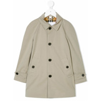 Burberry Kids Trench Coat Curto - Nude & Neutrals