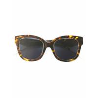 Dior Eyewear Óculos De Sol 'very Dior' - Brown