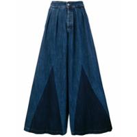 Caban Romantic Calça Jeans - Azul