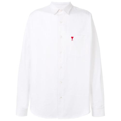 Imagem de Ami Alexandre Mattiussi Camisa slim 'Ami de Coeur' - Branco