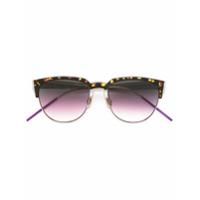 Dior Eyewear Óculos De Sol Modelo 'spectral' - Brown