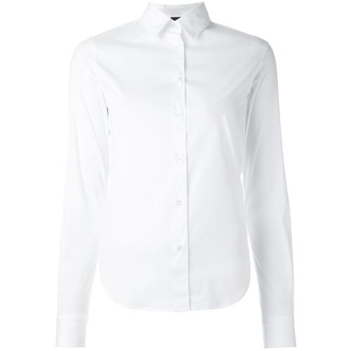 Imagem de Aspesi Camisa slim fit - Branco