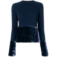 Cashmere In Love Suéter De Cashmere 'taylor' - Azul
