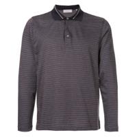 Cerruti 1881 Camisa Polo Listrada - Vermelho