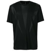 Blackbarrett Camiseta Com Recortes Translúcidos - Preto