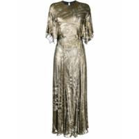 Bianca Spender Vestido 'amour Cleopatra' - Metallic