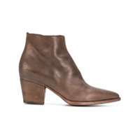 Officine Creative Bota De Couro 'audrey' - Brown
