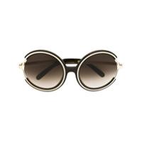 Chloé Eyewear Óculos De Sol 'jayme' - Green