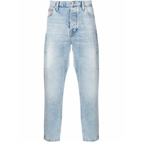 Calça jeans cropped azul em algodão, TOMMY JEANS.