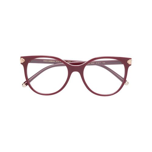 d7e1cf984b5f6 Promoção de Dolce gabbana eyewear oculos de grau gatinho vermelho ...