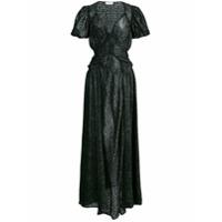 Attico Vestido Longo - Preto