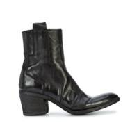 Fauzian Jeunesse Ankle Boot Bordada - Preto
