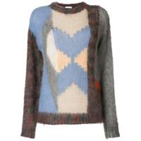 Chloé Suéter Color Block - Estampado
