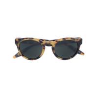 Barton Perreira Óculos De Sol Redondo - Brown