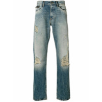 Ck Jeans Calça jeans reta - Azul