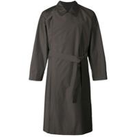 E. Tautz Trench Coat Com Abotoamento Duplo - Brown
