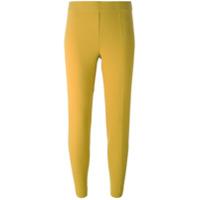 P.a.r.o.s.h. Calça Legging Reta - Amarelo E Laranja