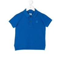 Cp Company Kids Camisa Polo Clássica - Azul
