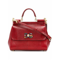 Dolce & Gabbana Bolsa Tiracolo 'sicily' - Vermelho