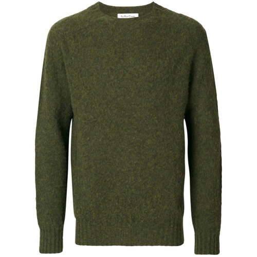 ymc-sueter-uedehead-brushed-crew-green