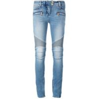 Balmain Calça Jeans Skinny - Azul