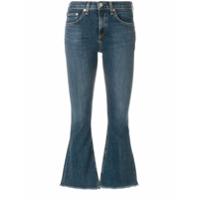 Rag & Bone Calça Jeans Flare - Azul
