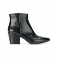Buttero Ankle Boot 'joseline' De Couro - Preto