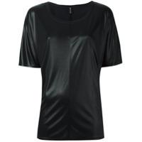 Alexandre Vauthier Camiseta Mangas Curtas - Preto