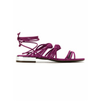Schutz Sandália De Couro - Pink & Purple