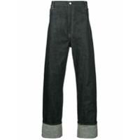 Junya Watanabe Man Calça Jeans Pantalona - Azul