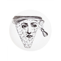 Fornasetti Prato De Porcelana Estampado - Branco