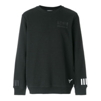Adidas By White Mountaineering Moletom Com Patch De Logo - Preto
