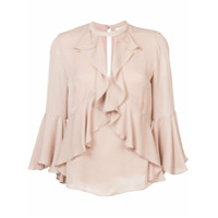 Cinq A Sept Blusa Slim - Pink & Purple