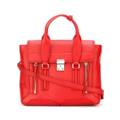 Imagem de 3.1 Phillip Lim Bolsa média modelo 'Pashli' - Vermelho