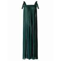Adriana Degreas Vestido Longo De Seda - Green