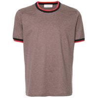 Cerruti 1881 Camiseta Listrada - Cinza