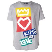 Dolce & Gabbana Camiseta Estampada - Cinza