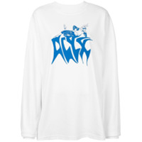Alyx Blusa De Moletom Com Estampa De Logo - Branco