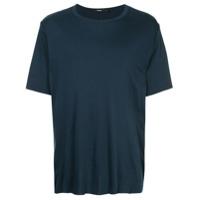 Bassike Camiseta Com Efeito Desbotado - Azul