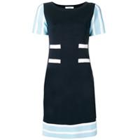 Charlott Vestido De Tricô - Azul
